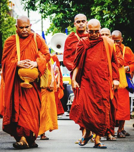monks for meditation EyeEmNewHere Monks Walk Monks Monks In Motion Monks In Temple Meditation Budhha Gautambuddha Only Men Adult Full Length Men Adults Only Real People Males  Press For Progress