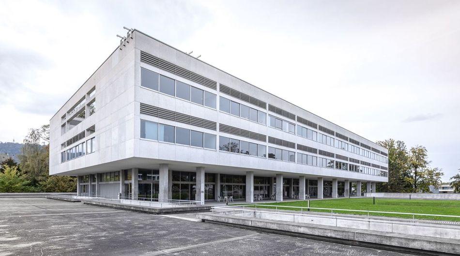 Zürich Architecture Architektur Lines Kantonsschule Enge Masterpiece