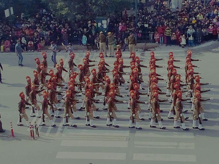 Parade watchingIndianrepublicdayparade Indianrepublicday Eyeemindia 26th January