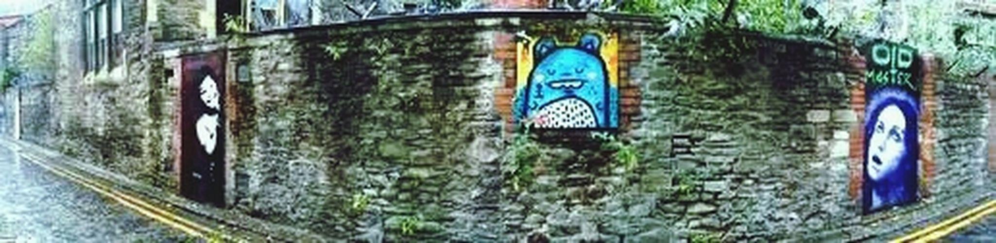 Streetart Graffiti Stencil Art