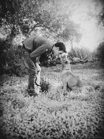 Dog Love B&W Photo Lifestyle Dog Life EyeEm Best Shots - Black + White Monocrome Design Black And White B&w Photography Animal Photography Secret Garden People Photography The Moment - 2015 EyeEm Awards