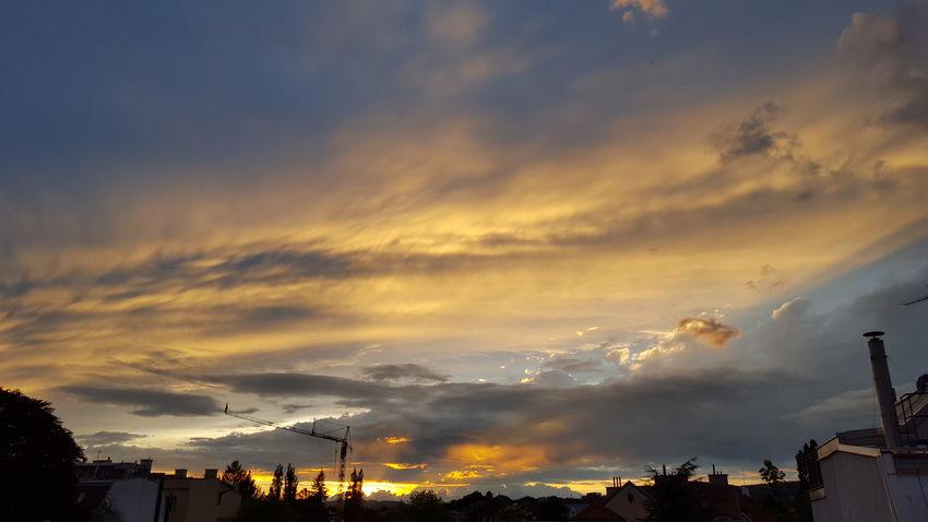 Sunset Dramatic Sky Nature Sky Cloud - Sky