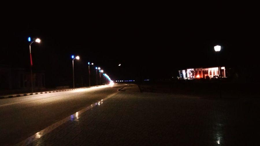 City Illuminated Street Light Lighting Equipment