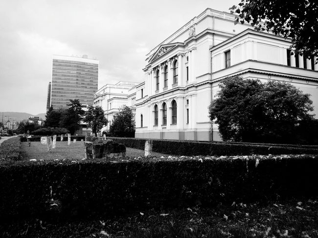 Sarajevo Bosnia And Herzegovina Blackandwhite Photography Museum .. Zemaljski muzej :))
