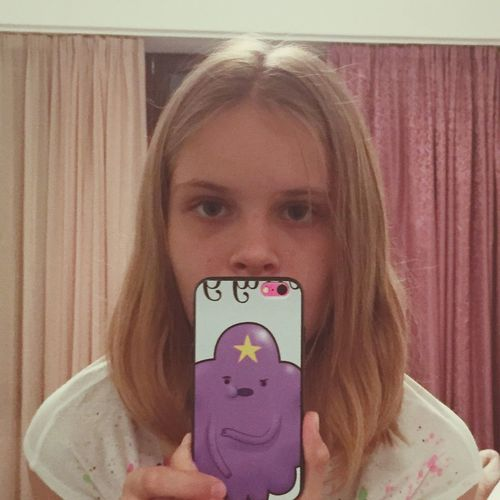 Oh, My Glob! It's my Phone ! Adventure Time Skin On Iphoneonly пупырка Violet