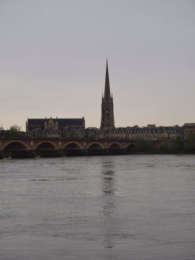 Architecture Architecture_collection Bordeauxtourism Bridge Bridge View Church Old Town Reflection