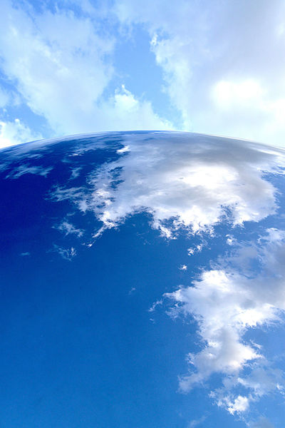 Blue Blue Sky Earth Earthporn Reflection Reflection_collection Sky Sky And Clouds Sky_collection Sky_collection Skyporn Sphere