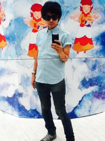 Mirror Cheese! Siam CTW Relaxing Bkk Thailand I Love My Sunglasses.