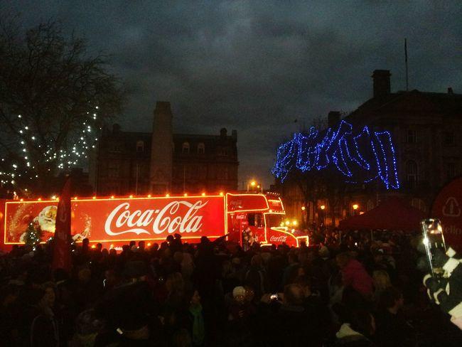 HolidaysAreComing Coca-cola Christmastime Santa Claus