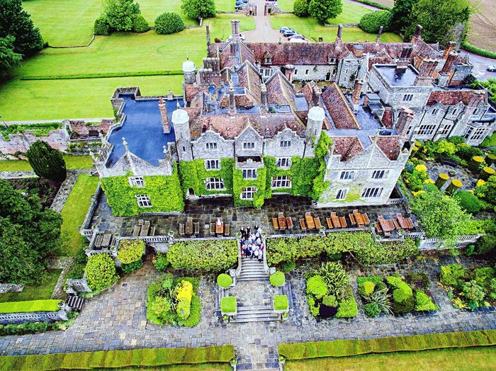 Renewal of marriage vows at Eastwell Manor Phantom 3 Eastwell Manor