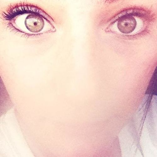 My brother says my eyes look like a dragon....