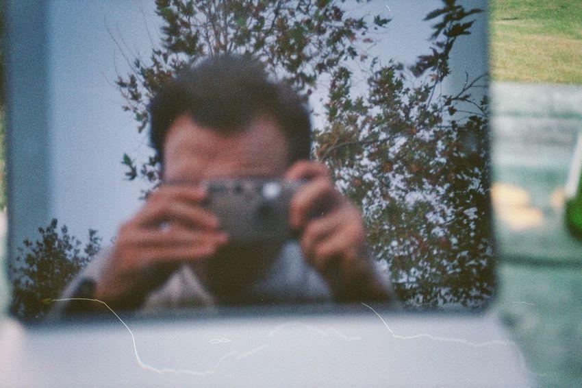 Selfie Yashica Analog Calmintrees