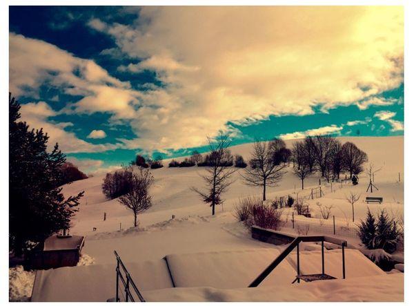 Winter Hello World Good Times Sky