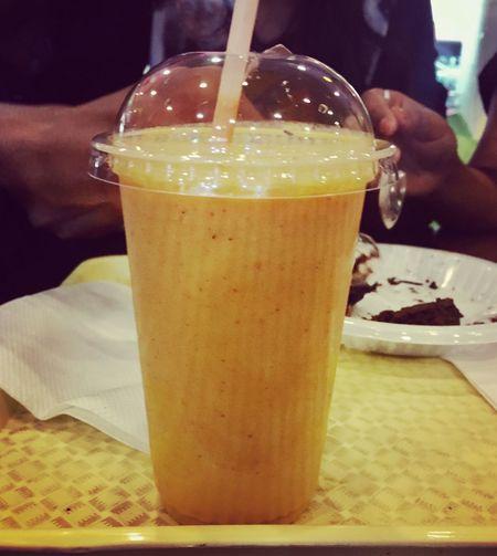 Season Best👻 Mangoshake Food And Drink Refreshment Indoors  Freshness 😍😍