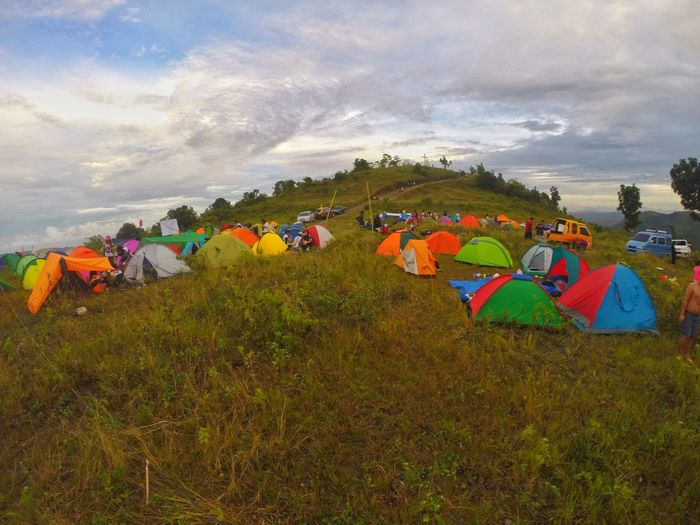 Tent Sky Nature Multi Colored Outdoors Camping Landscape People The Great Outdoors - 2017 EyeEm Awards