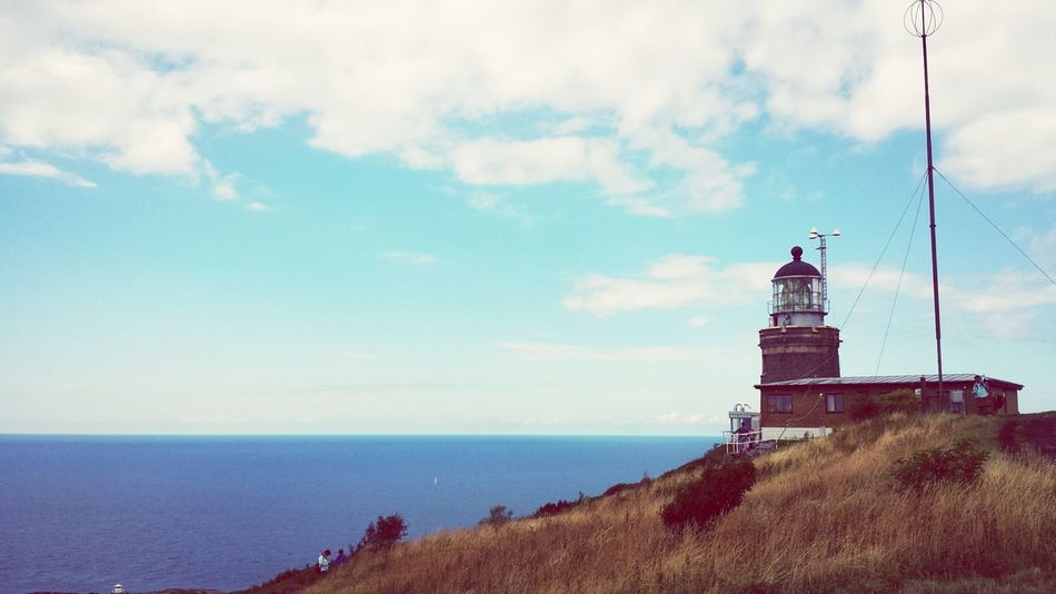 The lighthouse at Kullen. Sweden
