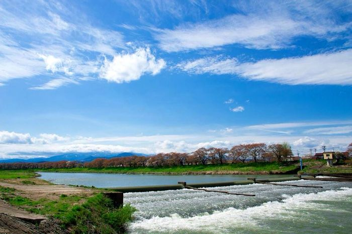Landscape Blusky Relax Riverside Japan Giappone Hanami Canon700D Sigma 17-50mm Japan_daytime_view Japan Photography Travel Destinations Travel Photography Travelblogger Icu_japan Wu_japan Travelgram Landscape_photography Loves_asia Japan Scenery 大河原 River View Japan Nature