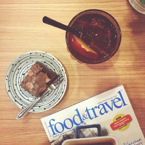 Happiness is 'food&travel' :) Sgcafe Sgfood Lifesgood
