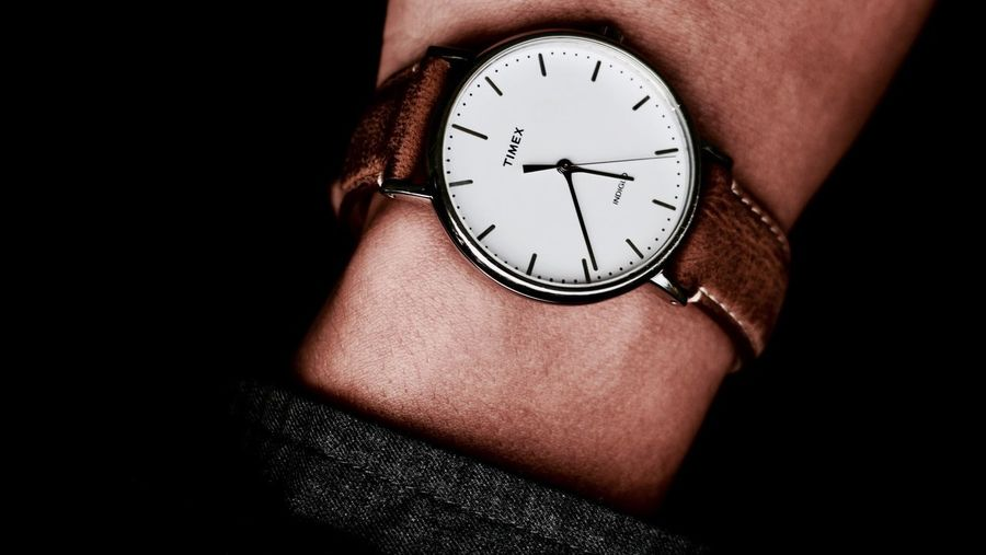 -Tom's Timex- Timex Clock Human Body Part One Man Only Number