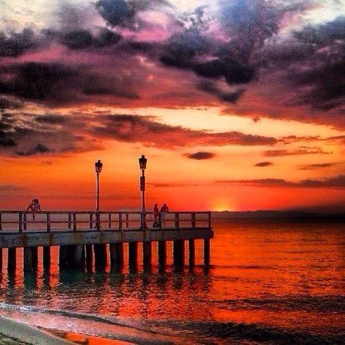 Beach Kateríni Sunset