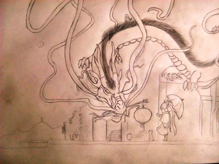 Miku :3 Cartoon Pic Drawing ✏ drawing