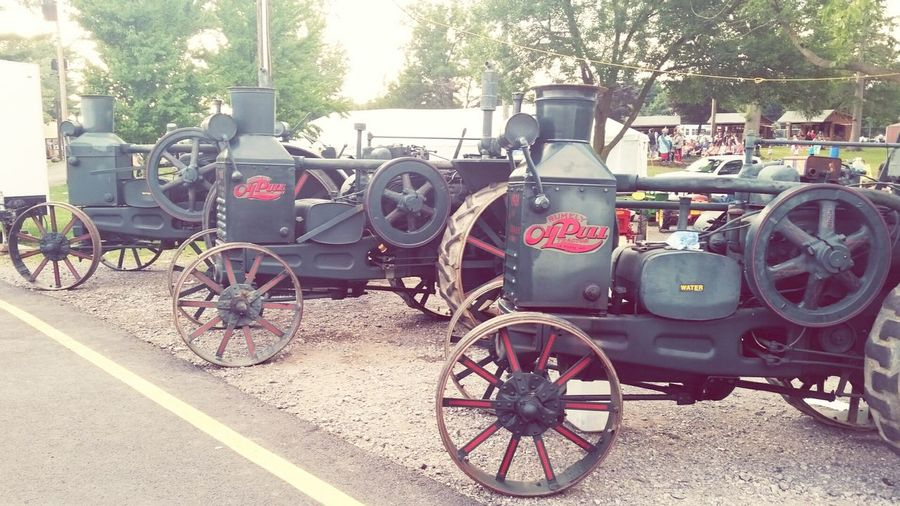 Buffalo Eire County Fair 2015 First Eyeem Photo Tractor 1880 1917 Taking Pictures Exploring NewThings Green Green Green!