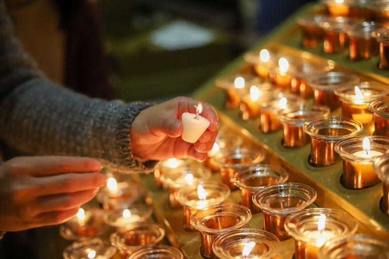 Prayer lighting