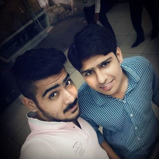 Selfie After Long Time With Buddy 😃 . Late Night Upload 😜 . Instafreak 😘