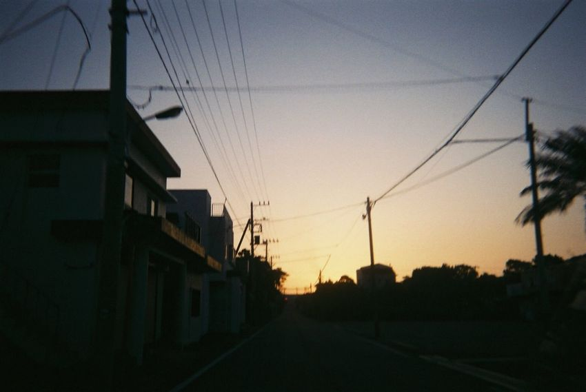 Sunset Cable Silhouette Power Line  Electricity Pylon No People Sky Electricity  Power Supply Road Built Structure Architecture Outdoors Telephone Line Nature Building Exterior Day OpenEdit Film EyeEm Best Shots Beauty In Nature Nature