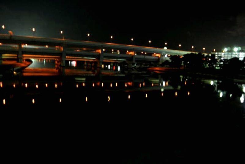 夜景 武庫川