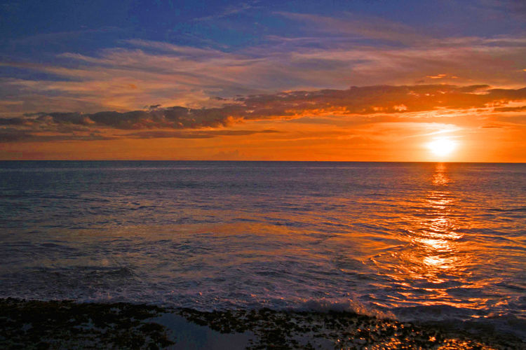 Oahu Hawaii sunsets shot in Ko Olina Cloud Cloud - Sky Dramatic Sky Ko Olina Majestic Oahu, Hawaii Ocean Orange Color Sea Seascape Sun Sunset Tranquil Scene Sunset Silhouettes