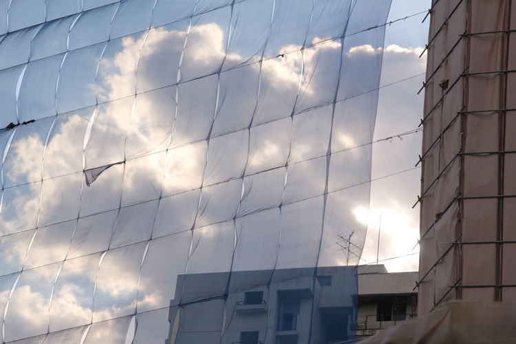 Apartment Architecture Building Exterior Built Structure Cloud - Sky Day Demolition Destruction Low Angle View No People Outdoors Residential Building Seongnam Sky Sunlight Focus On The Story