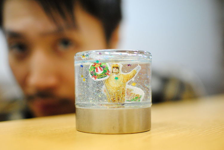 Snow globe 🆒 Cool Kim  Brother Contents Makingthat Portrait That's Me Check This Out