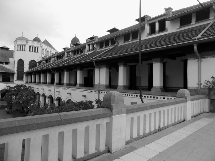 Architecture Blackandwhite Photography Building Exterior Built Structure Central Java,indonesia Day Historical Building Lawangsewu Outdoors