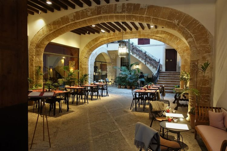 Old Town, Altstadt Architecture Beautiful Houses Boutque Hotel Can Cera Center Chair Day Hotel No People Old Town Square Outdoors Palace Palma De Mallorca Table Tourist Attraction