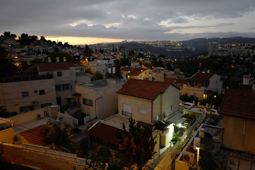City Cityscape Home Middle East Night City Peace Sunset_collection City View  Controversial Good Night Israel Jerusalem Modern City Sleeping Sunrise View From Terrace War