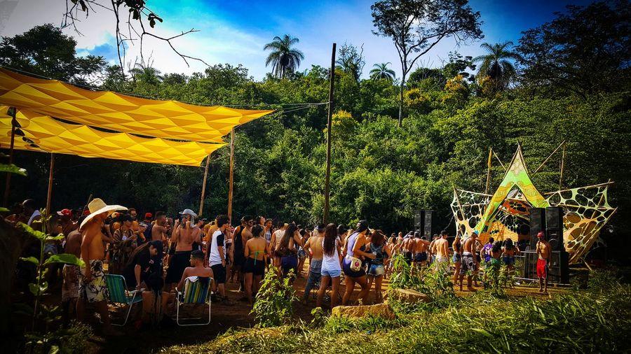 Party in the Forest Fotoegrafiabh #pvt #bailerave #eletromusic #festanafloresta EyeEm Selects EyeEm Best Shots