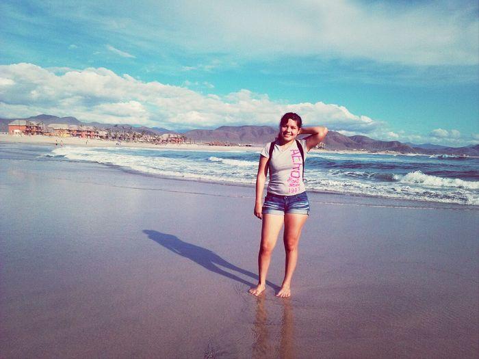 me encanta el mar.