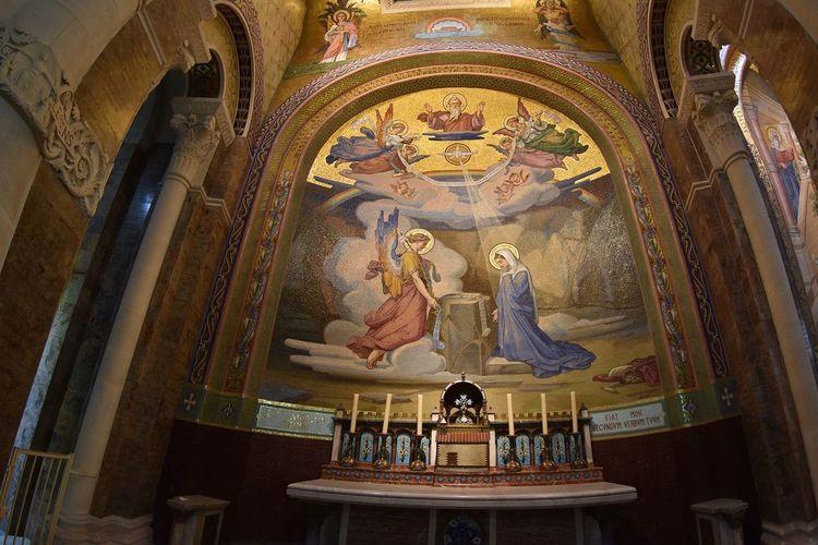 Candles Cathedral Catholic Catholic Church France Indoors  Lourdes Ornate Religion Religious Architecture Religious Art