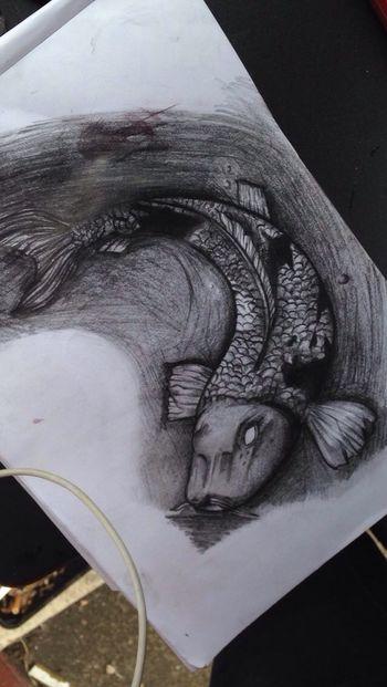 Drawing Nonnynoonoo Fish Doodle