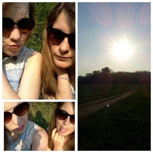 Sunshine! Geiles Wetter! Geiles Wetter Geniesen Freunde Für's Leben