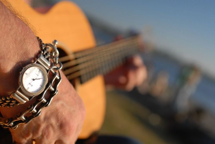 Guitar Beach Hand Jewelry Ocean