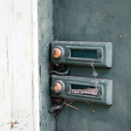 Bell Door Bell Entrance Lost Abandoned Backgrounds Close-up Closed Cobwebs Day Door Entrance Handle Lock No People Old Old Style Outdoors Protection Ringing Run-down Rusty Safety Security Weathered