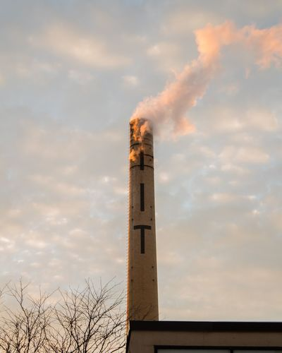 industry EyeEmSelect Tower Sky Cloud - Sky Architecture History Day Built Structure Low Angle View Sunset Nature No People Outdoors