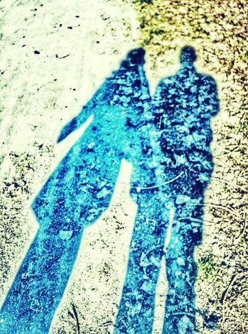 Walking Around Colors Of Winter Winter Shadow