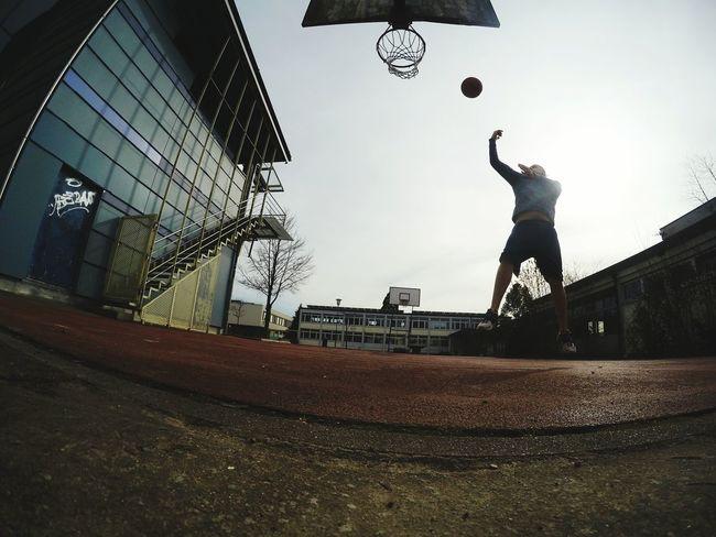 HOODLIFE Basketball Streetball GoPro Hero 4 EyeEm Best Shots Kickass Germany Badenwürttemberg Hochrhein Enjoying Life
