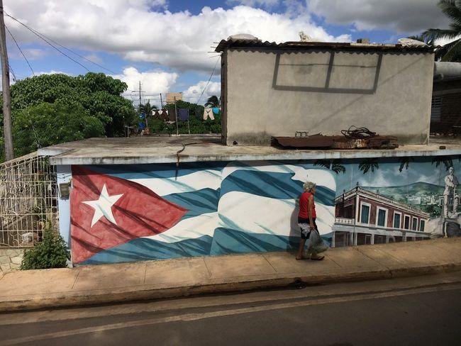 Cuba Flag Caribbean Art Is Everywhere