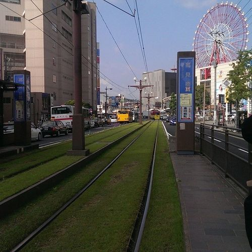 Kagoshima trolley lines~ JapanLife JapaneseStyle Kagoshima Japan japantravel japanphotography htc1