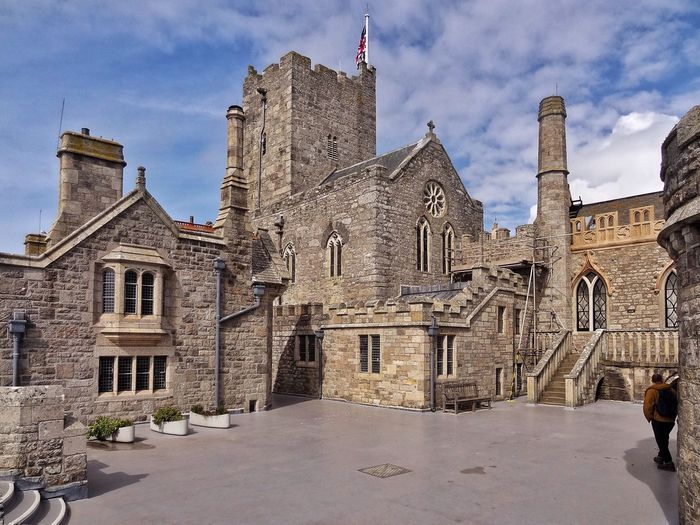 The Chapel at St Michael's Mount. Place Of Worship Building Exterior History Church Chapel