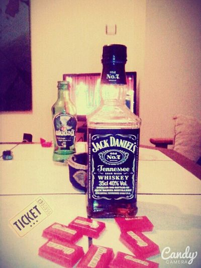 Mmm Jackdaniels Jennessee Sour Mash Whiskey No 7 Ticket